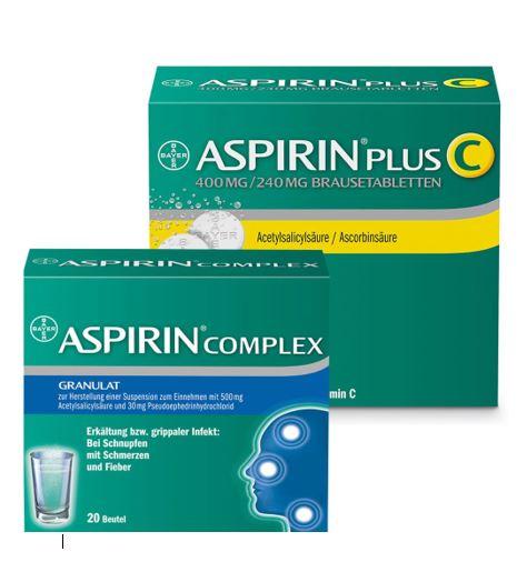 Aspirin Aktion -2€