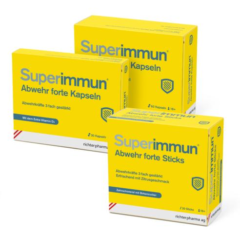 Superimmum Sticks + Tabletten € 2 Rabatt